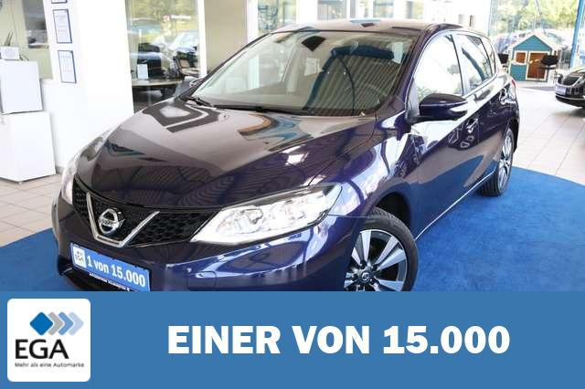 Nissan Pulsar Tekna NAVI LED AROUND VIEW AHK SHZG LEDER