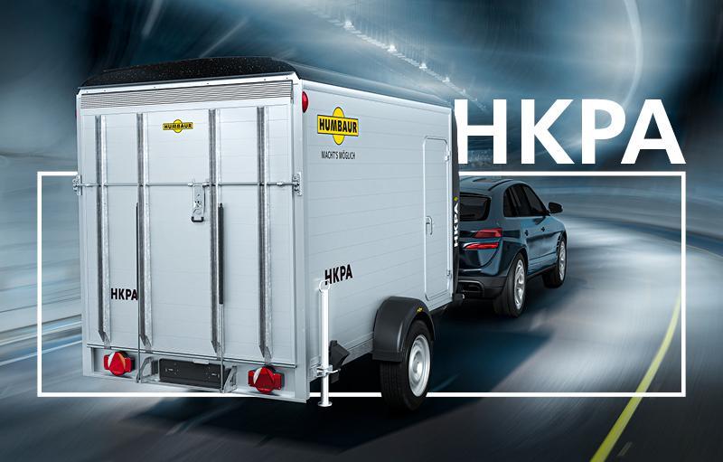 Humbaur HKPA203217 Poly-Alu Kofferanhänger Tandem 2000 KG
