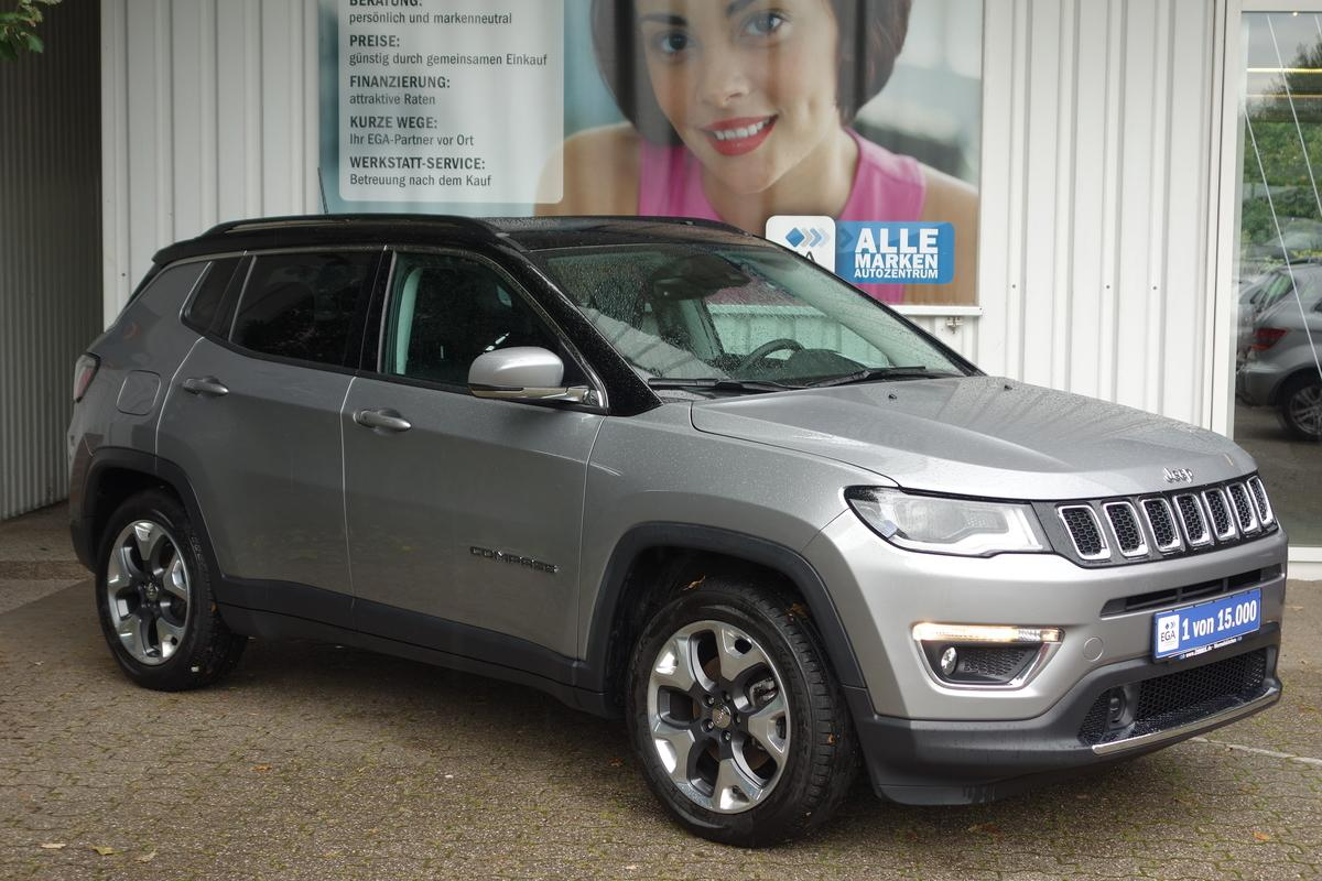 Jeep Compass  LIMITED*26 TKM*PANORAMADACH*LEDER*XENON*SHZ*CAR PLA