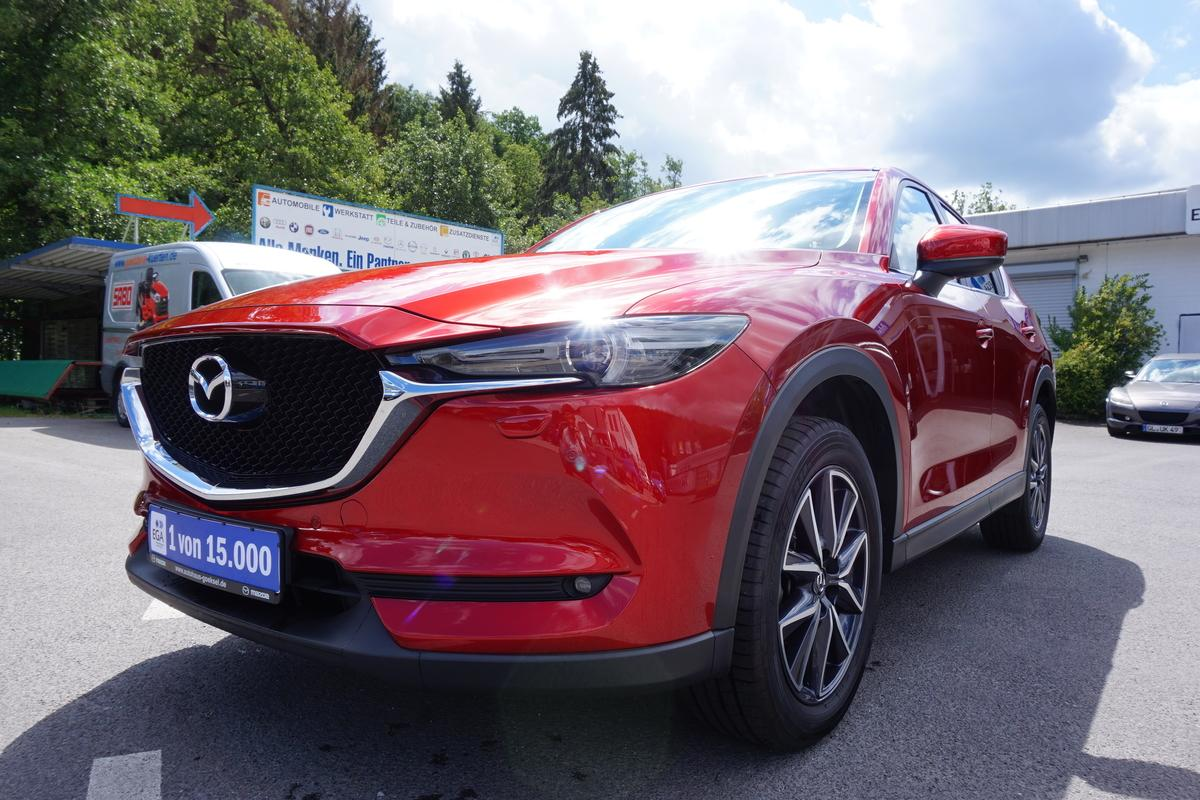 Mazda CX-5 LED, Navi, Head-Up, Kamera, PDC, 2-Jahre Garantie