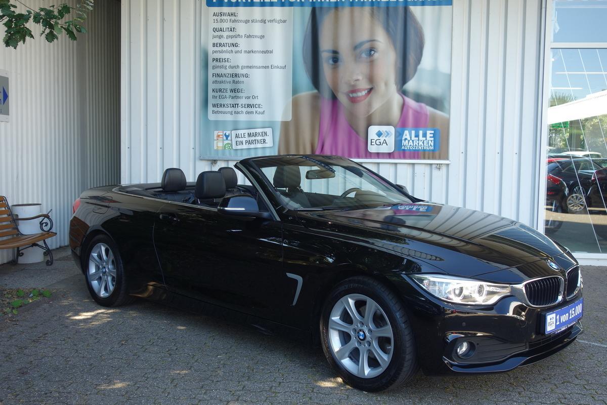 BMW 420d Cabrio *NAVI*EL SITZV*BI-XENON*LEDER*SITZH+NACKENH*