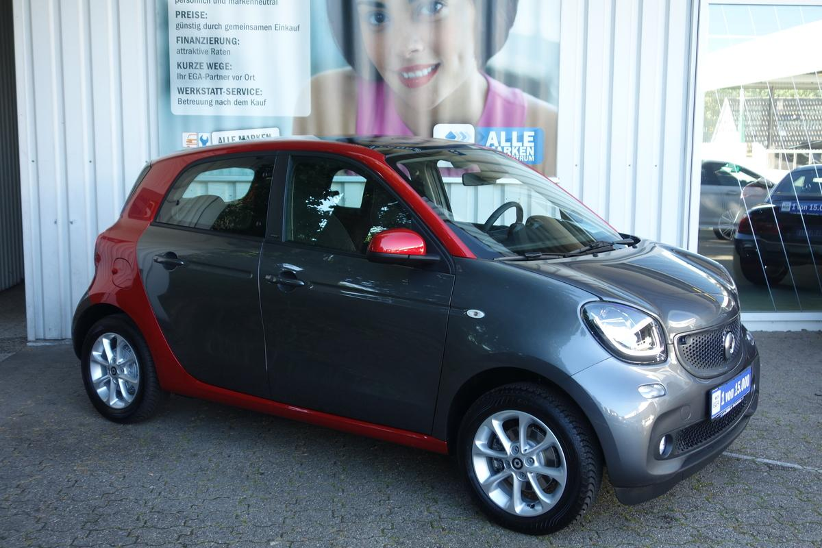 Smart ForFour passion*TWINAMIC*PANO*NAVI*PDC*SHZ*COOL*MEDIA*LED*BT