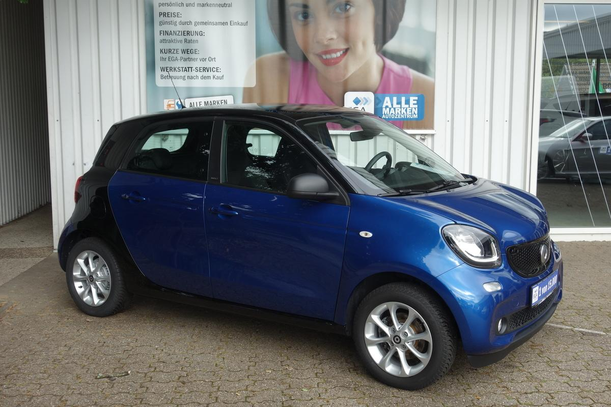 Smart ForFour twinamic*PASSION*PANO*SHZ*COOL&AUDIO*LED&SENSOR*PDC*