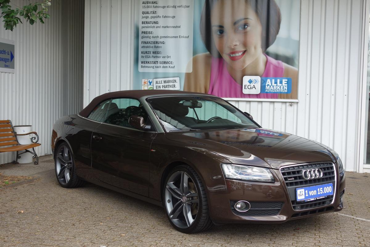 Audi A5 CABRIO*DSG*S-LINE SPORT*NAVI*XENON*PDC vo+hi*SHZ*FIS