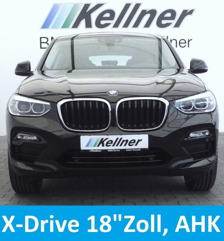 BMW X4 xDrive 20d  HUD 18Zoll AHK adap.-LED-SW