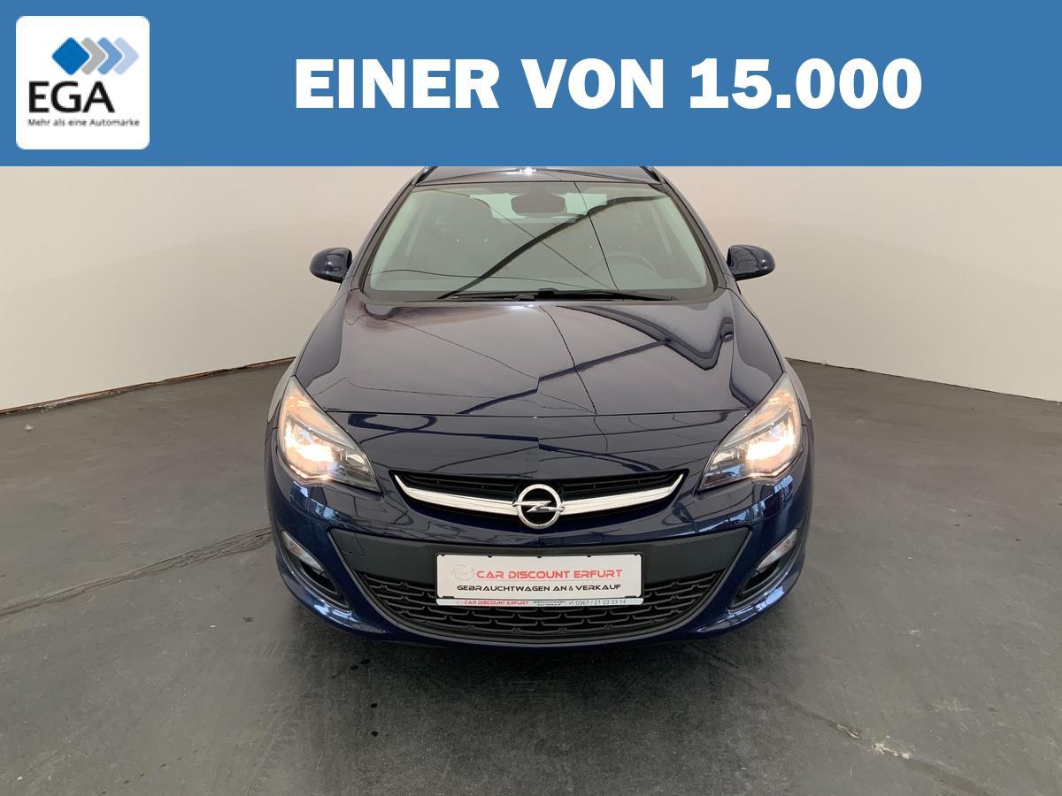 Opel Astra J 1,4 Turbo Edition+2.Hand+Scheckheft+8-fach bereift+