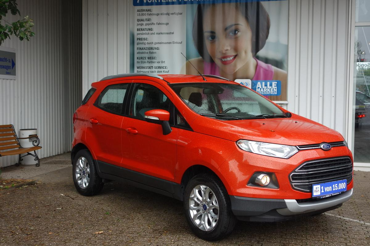 Ford EcoSport 1.0 EcoBoost TITANIUM TEMPO*ALU*KLIMAAUT*PDC*1.HAND