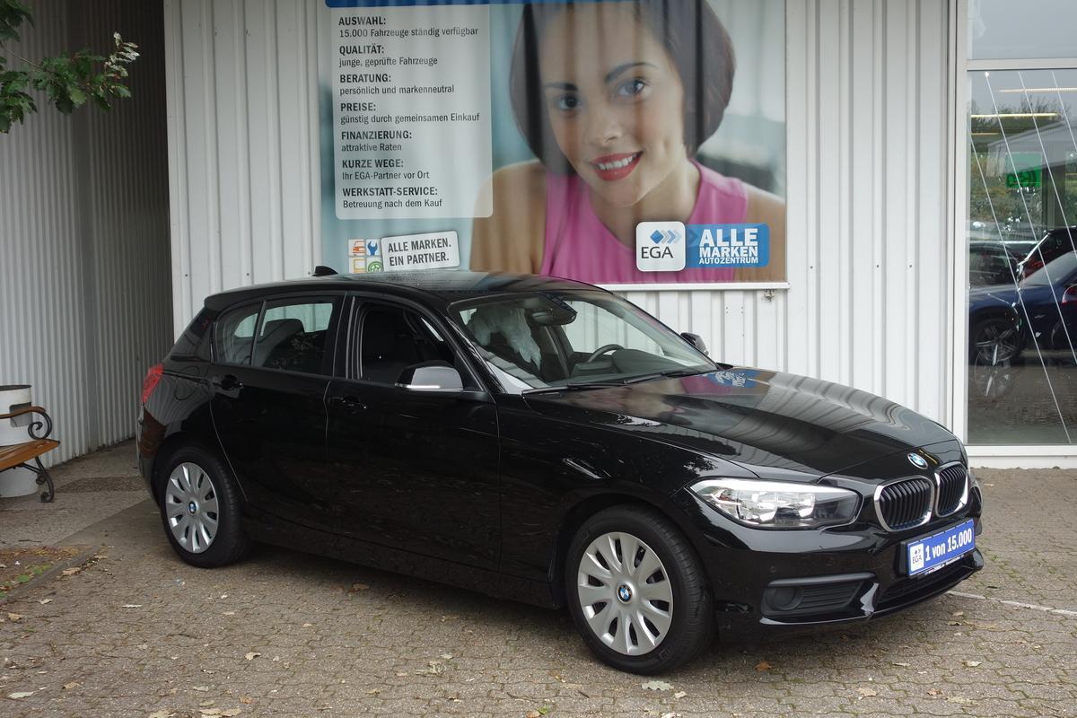 BMW 116i *1.HD*KLIMAAUTO*SHZ*PDC V+H*LICH+REGENSENSOR*