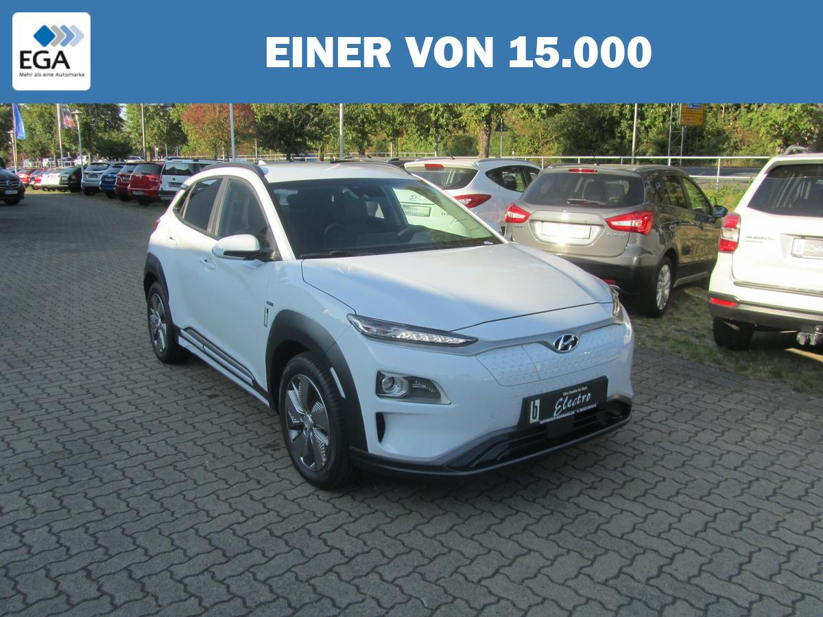 Hyundai Kona Elektro 150kW e-Kong, Navi+Klima+LKA+DAW+Bluetooth