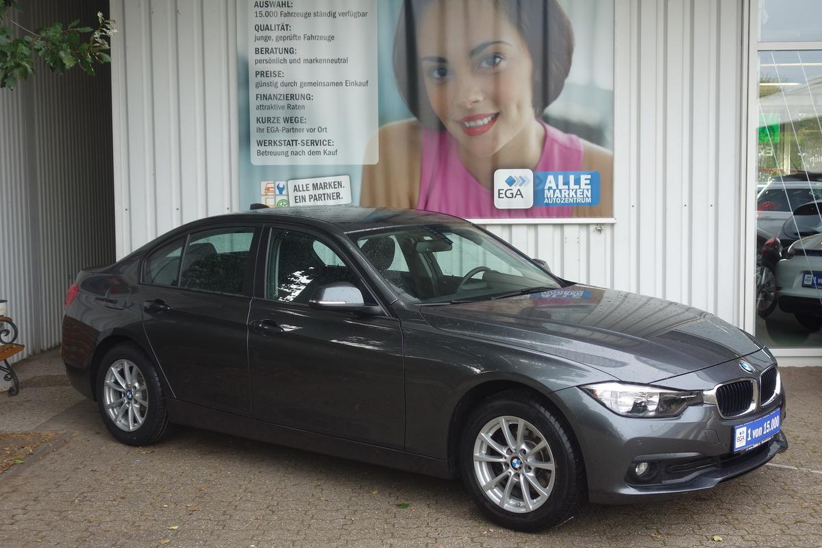 BMW 318i *1.HD*KLIMAAUTO*PDCv+h*LICHT+REGENSENSOR*BT*