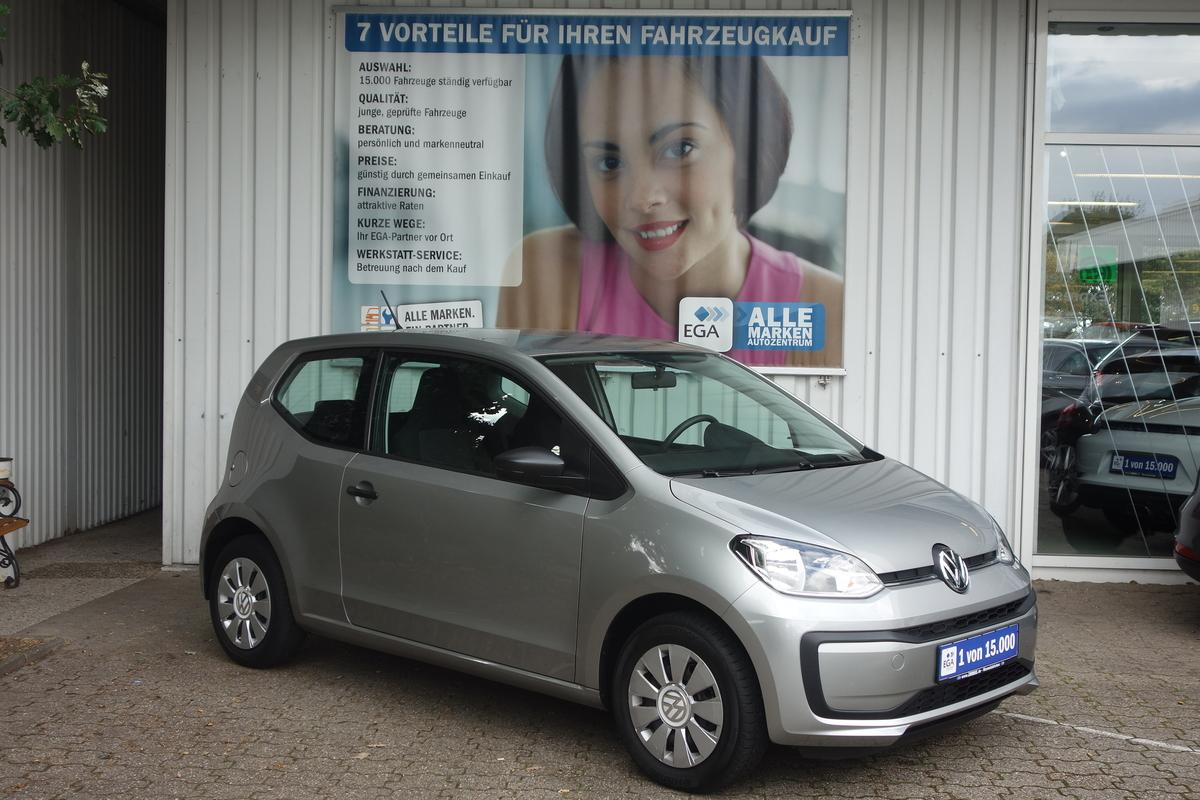 Volkswagen up! 1.0 take up! KLIMA*FB-ZV*ALLWETTER*CD*EFH*KOMFORTPAKET*