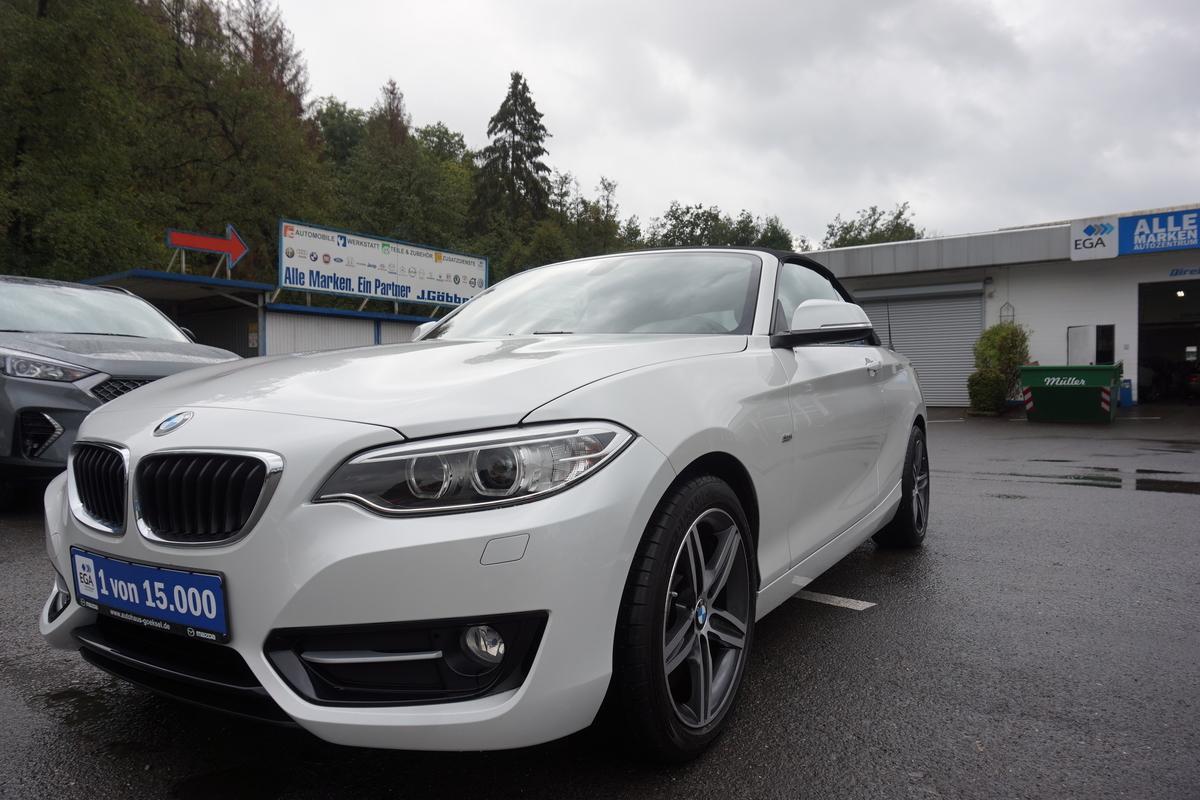 BMW 218Sportsline 218i, Leder, Navi, Bi-Xenon