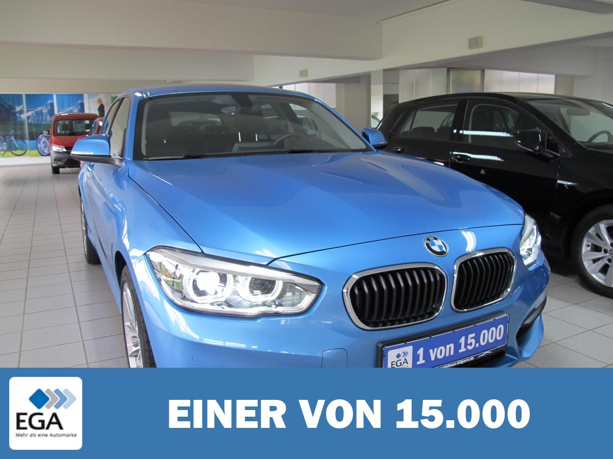 BMW 116i,Sea Side blue met.,Navi.,PDC,LED,Sitzh.