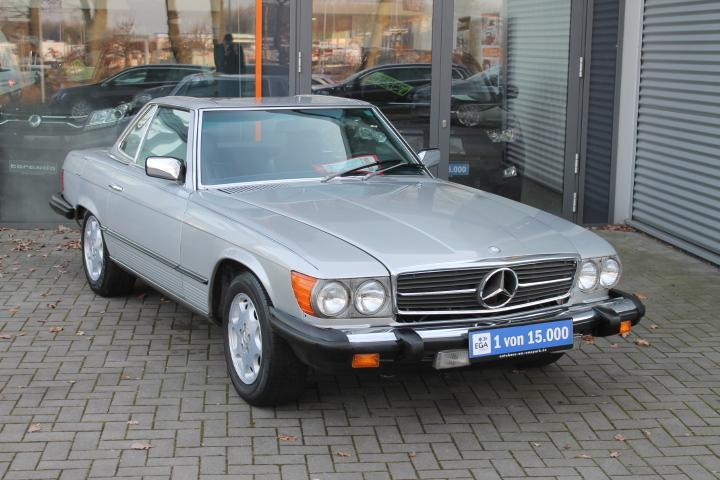 Mercedes-Benz SL 380 SL Automatik, TÜV/HU/H-Zulassung Leder, Dach neu