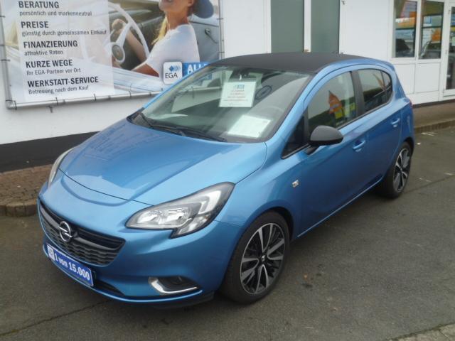 Opel Corsa E Design Line Automatik 5-t *Klima*LM-Felgen*PDC*Bluet