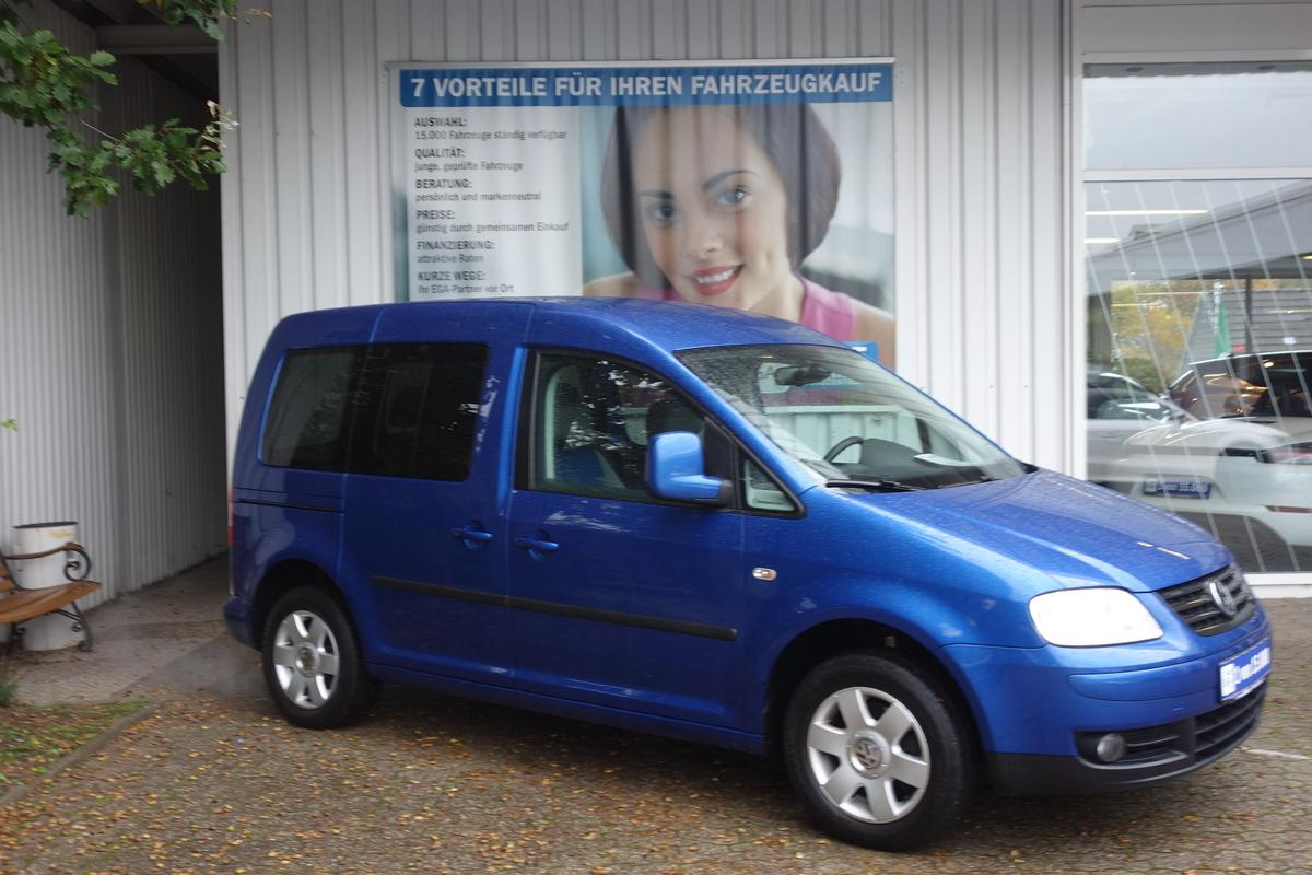 Volkswagen Caddy Life 1,6i *2.HD*AHK*SHZ*PDC*ALU*KLIMA*