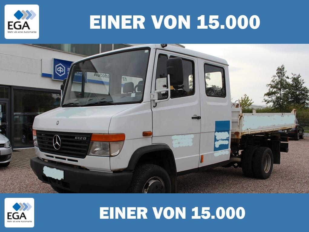 Mercedes-Benz Vario * 616 DoKa * Kipper * AHZV Starr * Standheizung *