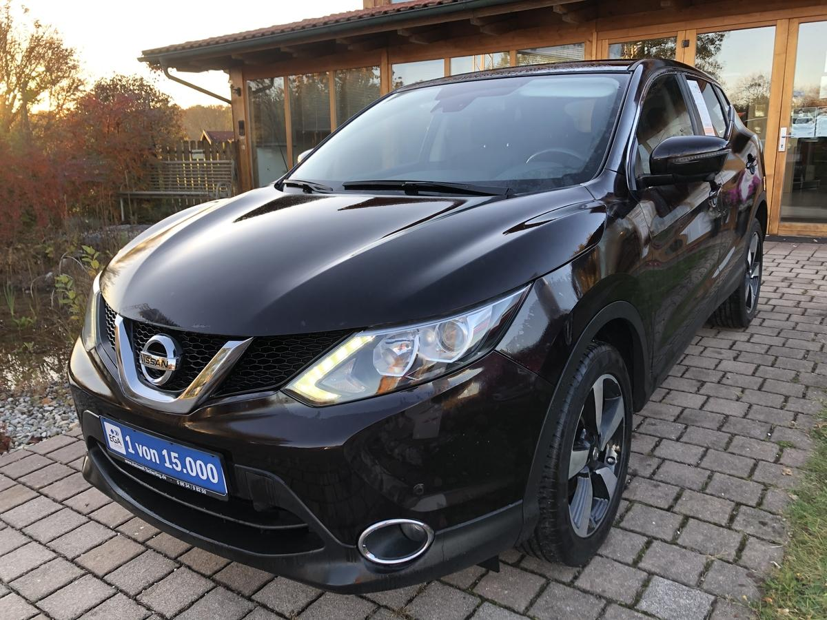 Nissan Qashqai 1,5 dCi - N-Connecta - Navy - Rückfahrk.- Bluetooth