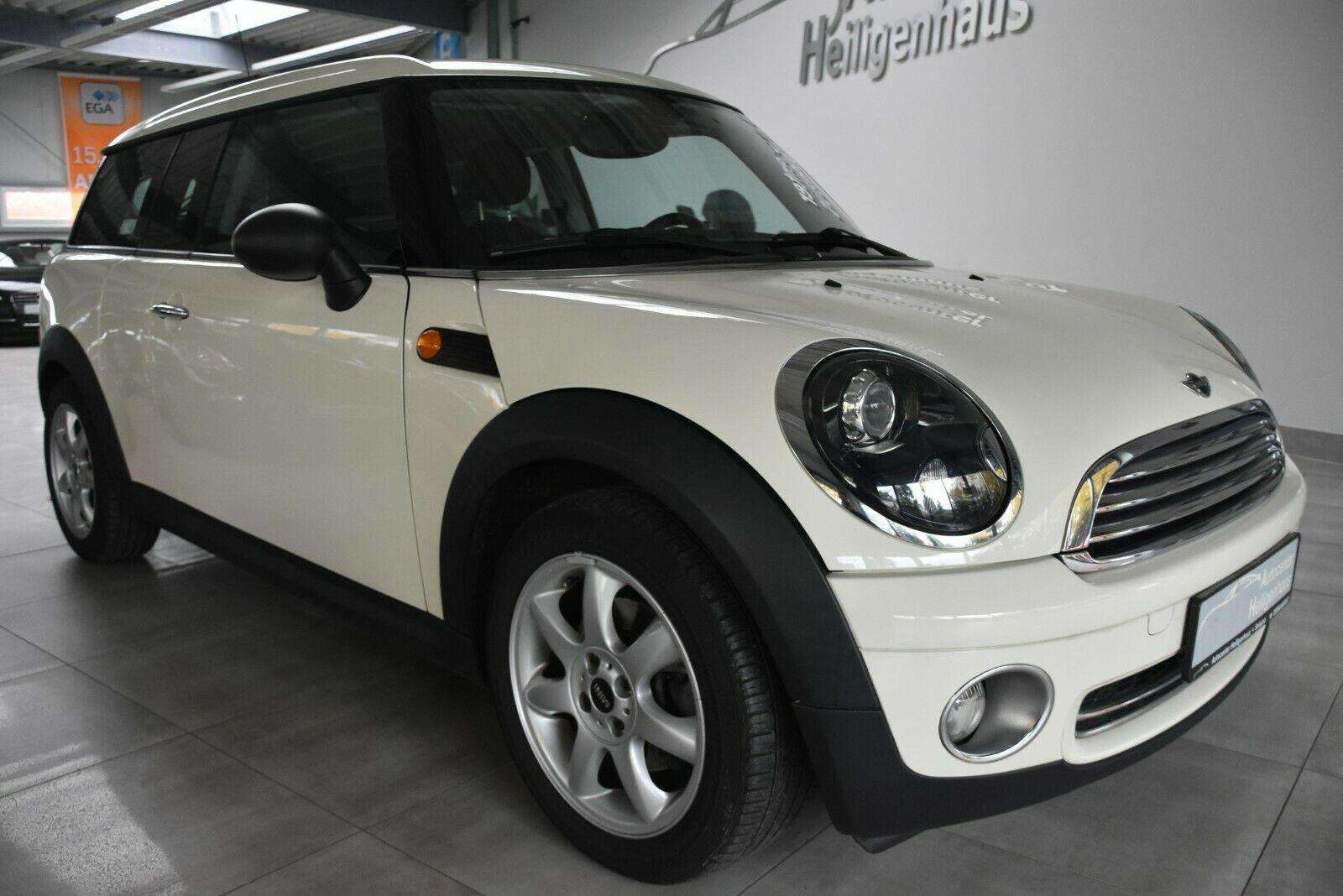 MINI One Clubman Klimaautomatik Alufelgen Chrome PDC