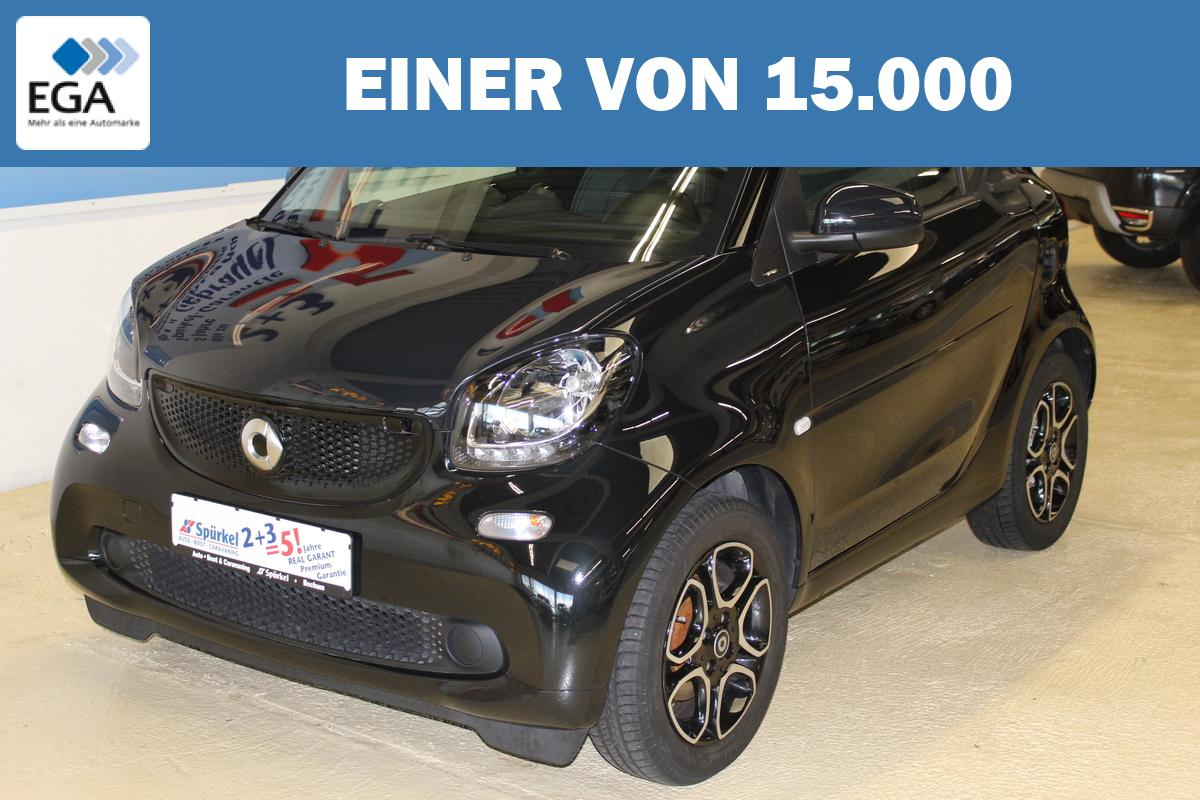 Smart ForTwo Coupe Prime, Tempomat, Sitzheizung