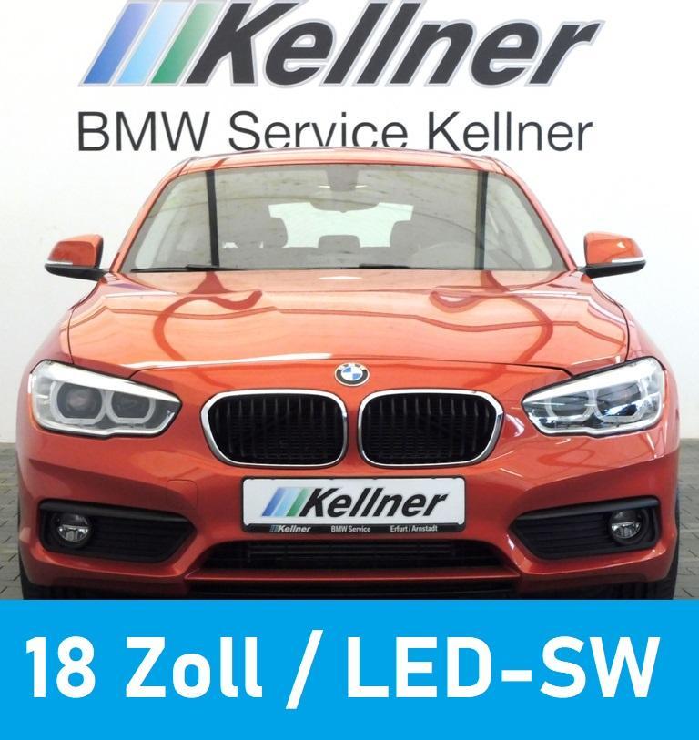 BMW 118 i LED-SW, Sitzheiz., 18 Zoll