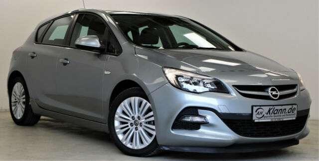 Opel Astra J 1.4 120 PS Limo OPC-Line Klima 1.Hand