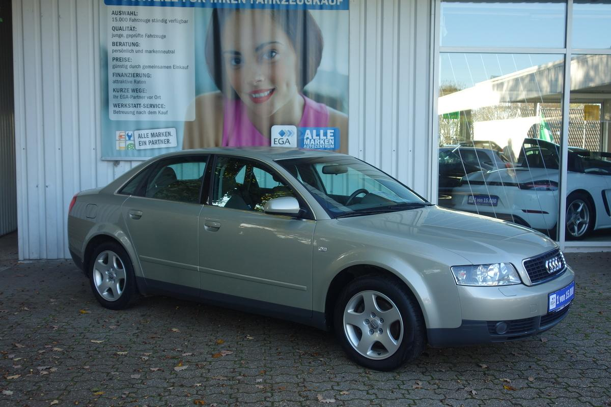 Audi A4 MULTITRONIC*TEMPOMAT*ALU*KLIMAAUTOMATIC*FIS