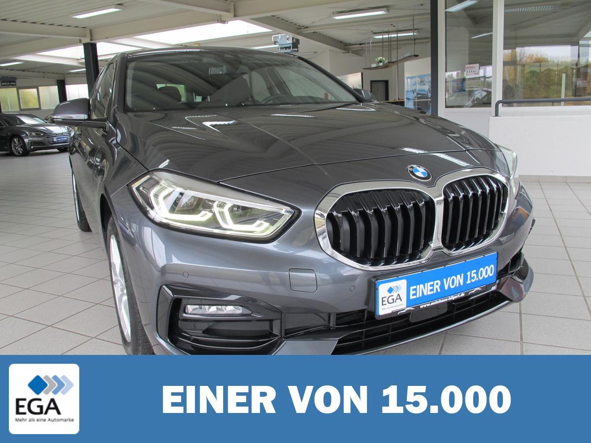 BMW 116d Sport Line *LED*Panoramdach*Navi.,Sitzh.,Klimaauto.