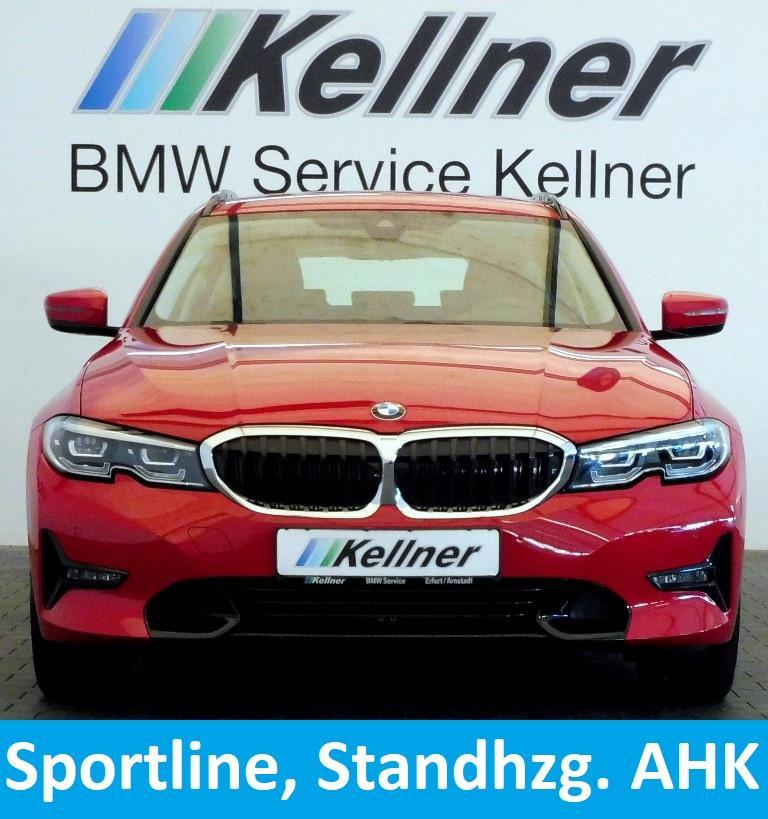 BMW 320 d G21 Sport-Line,Live Cockpit, AHK,Standheiz.