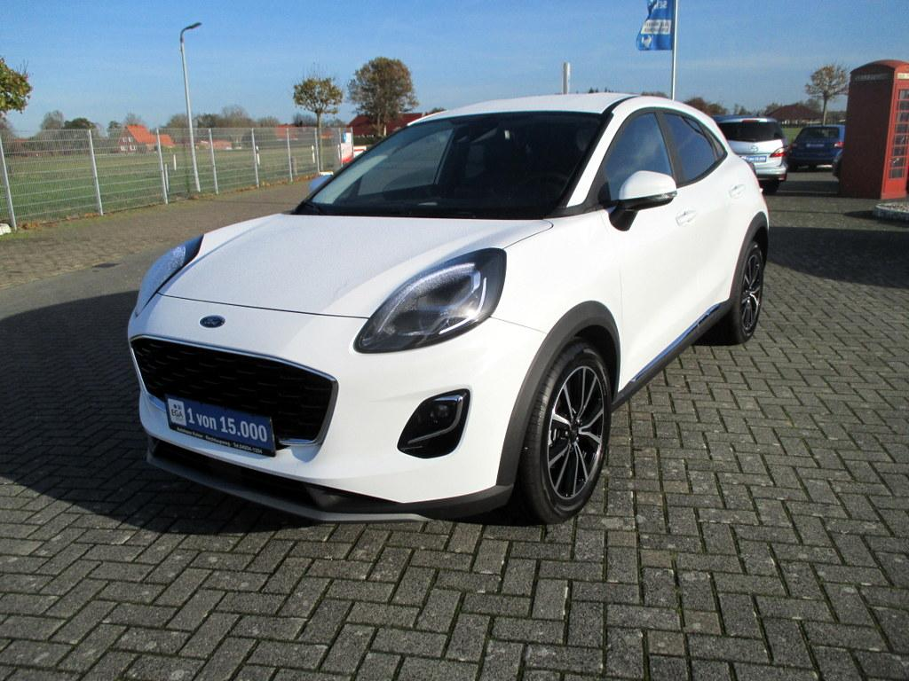 Ford Puma 1.0 Eco Boost MHEV Titanium LED / NAVI / DAB