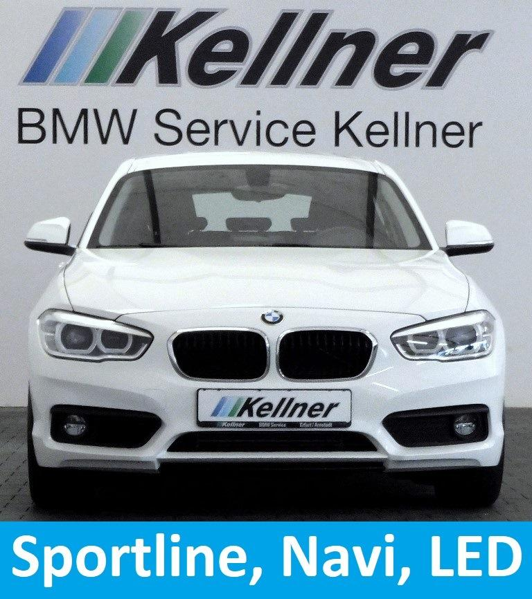 BMW 116 i Sport Line Navi LED-SW