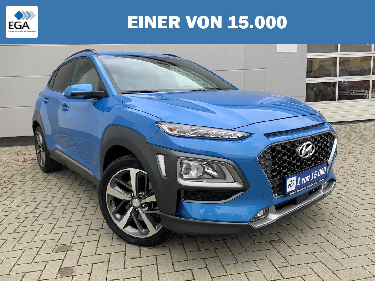 Hyundai Kona 1.6 T-GDi* Style*Navi*Klimaauto*Teilleder*