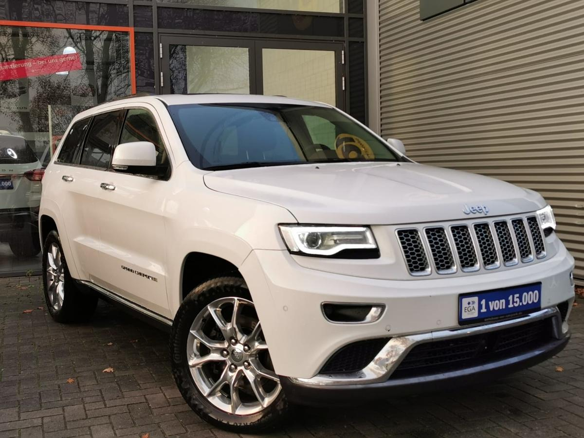Jeep Grand Cherokee 3.0 Summit Pano Leder Braun,H&K, 20 Zoll