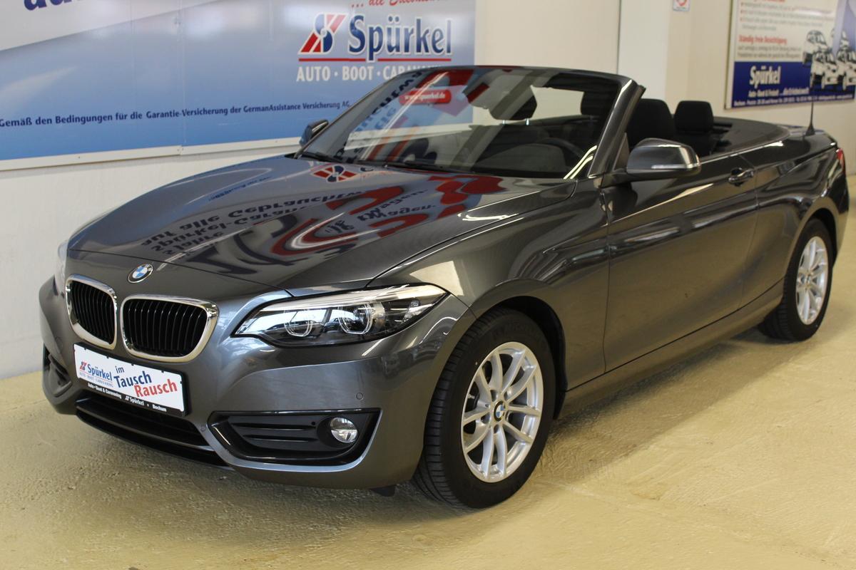 BMW 218i ,Cabrio,EURO 6 ,ConnectedDrive, Klimaautm.Navi