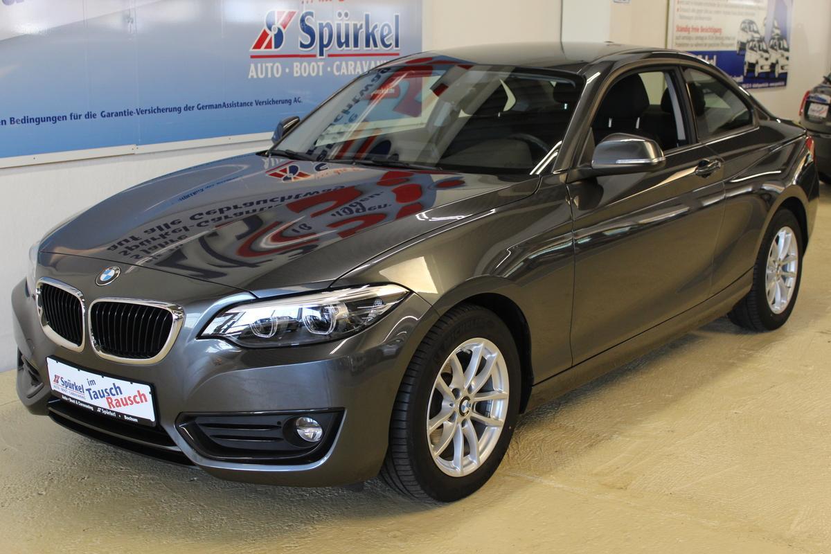 BMW 218d Advantage, Coupe Automatik