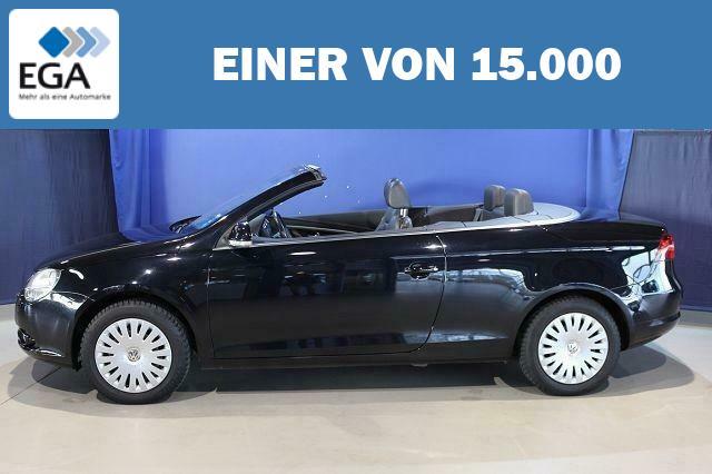 VW Eos 2.0 TDI CABRIO LEDER+PANO-DACH+TEMPOMAT+KLIM