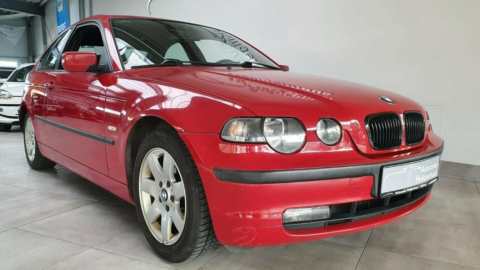 BMW 318ti Compact Klimaautomatik Tempo PDC