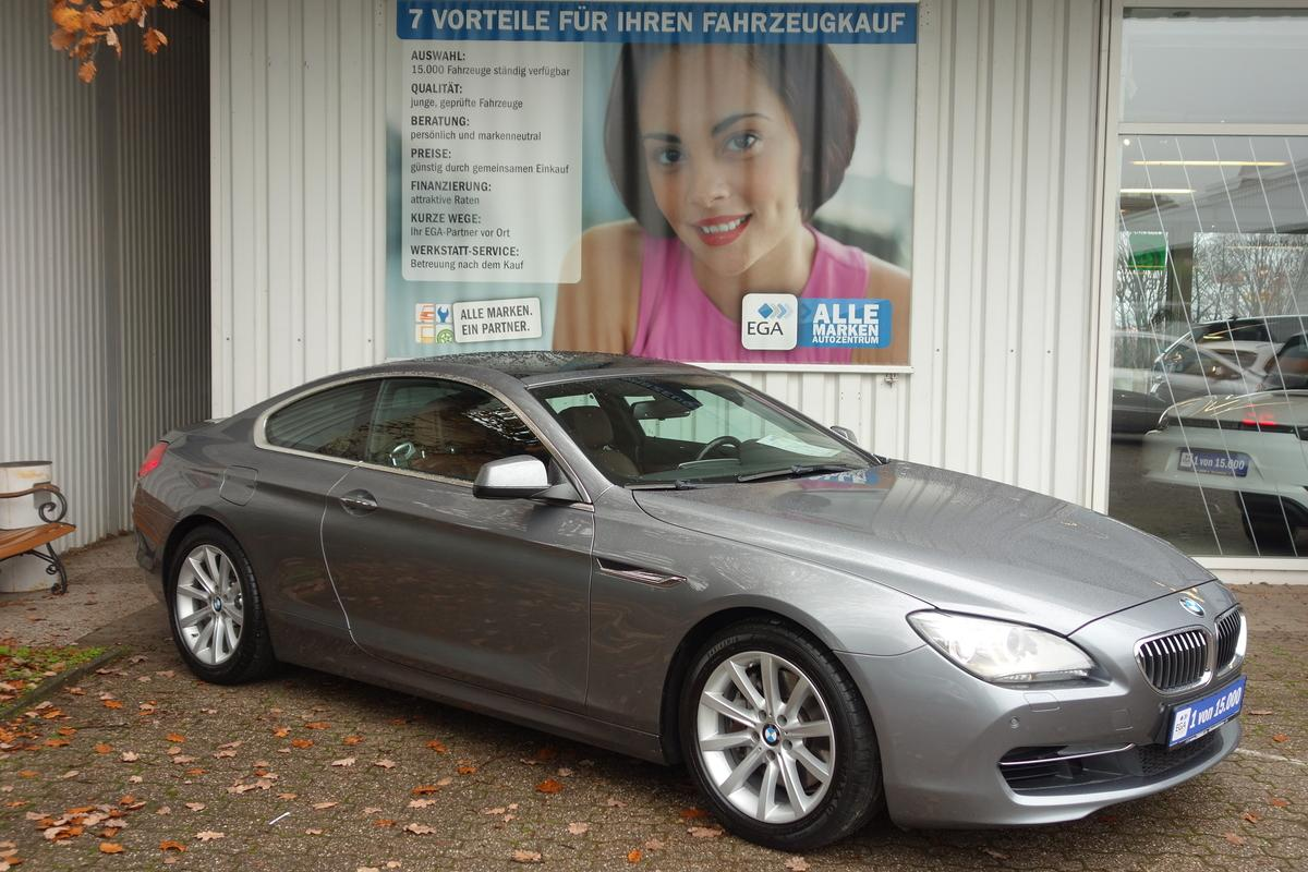 BMW 640ci COUPE*PANORAM*XENON*NAVI P*LEDER*SHZ*HEAD UP*PDC*HIFI