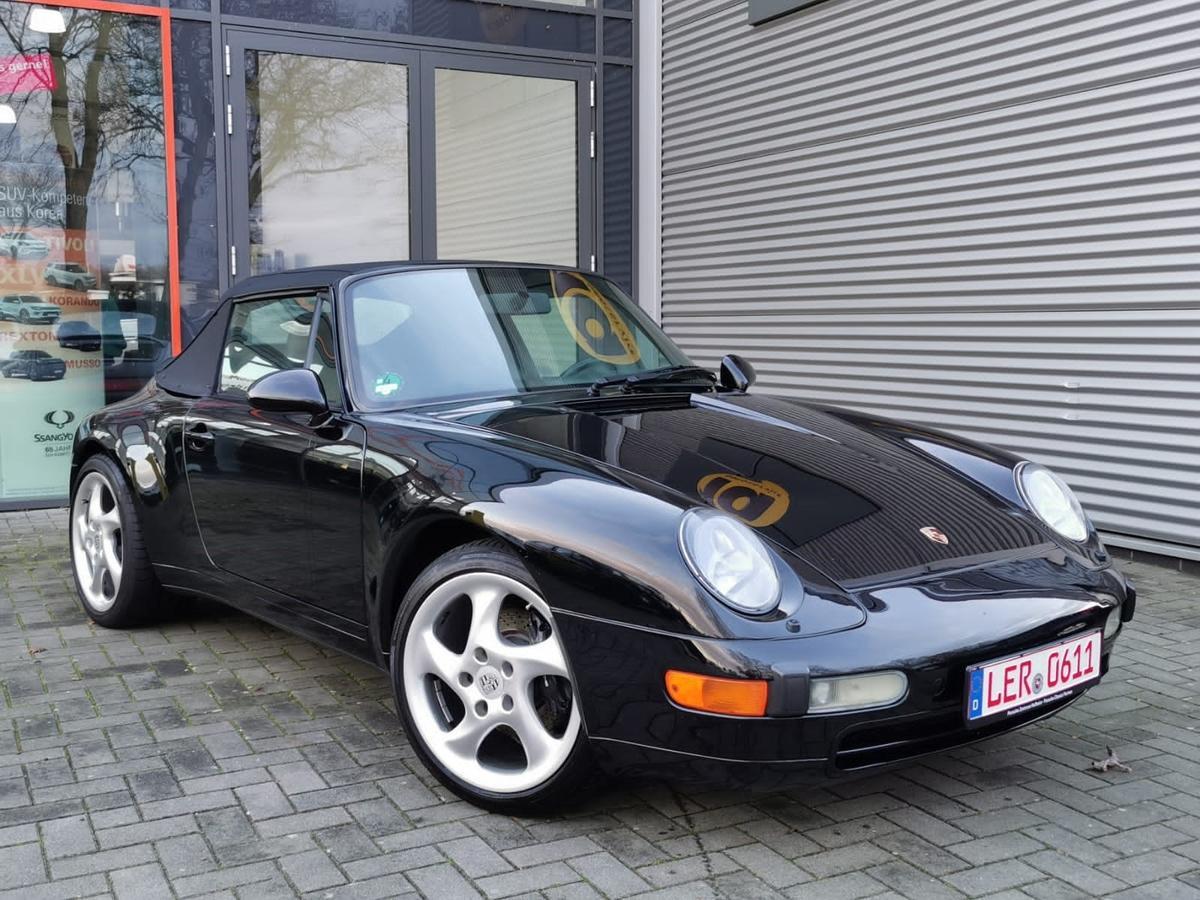 Porsche 993 911 alles in schwarz,im Werksauslieferungszustand,Turbor