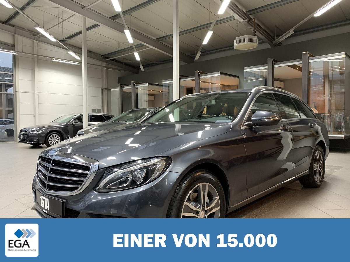Mercedes-Benz C 180 T Exclusive 7G LED Navi SHZ PDC AHK