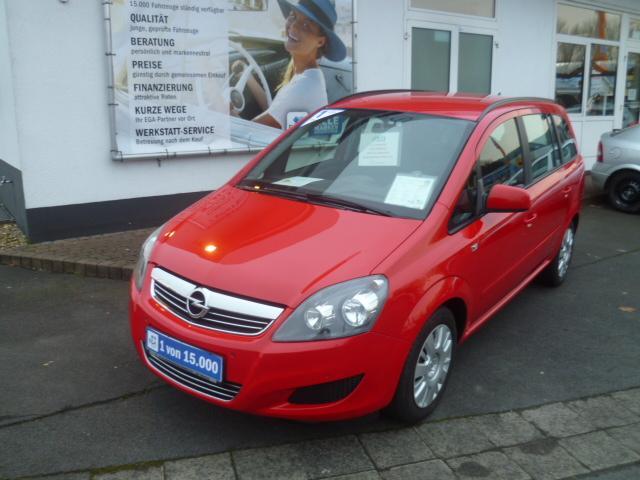 Opel Zafira B 1.8 Van Family *AHK*Tempomat*Klima*ZV*MP3*CD