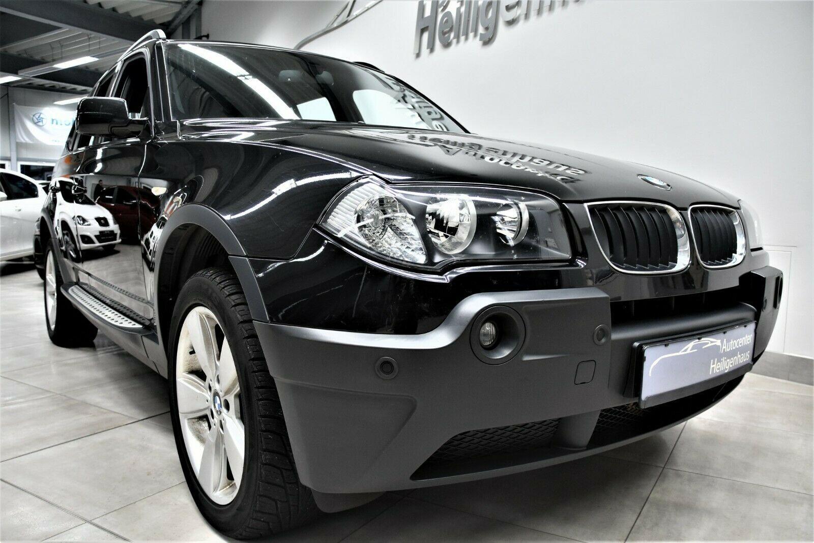 BMW X3 2.0d Navi Klima Tempomat Sitzheizung 2.Hd PDC