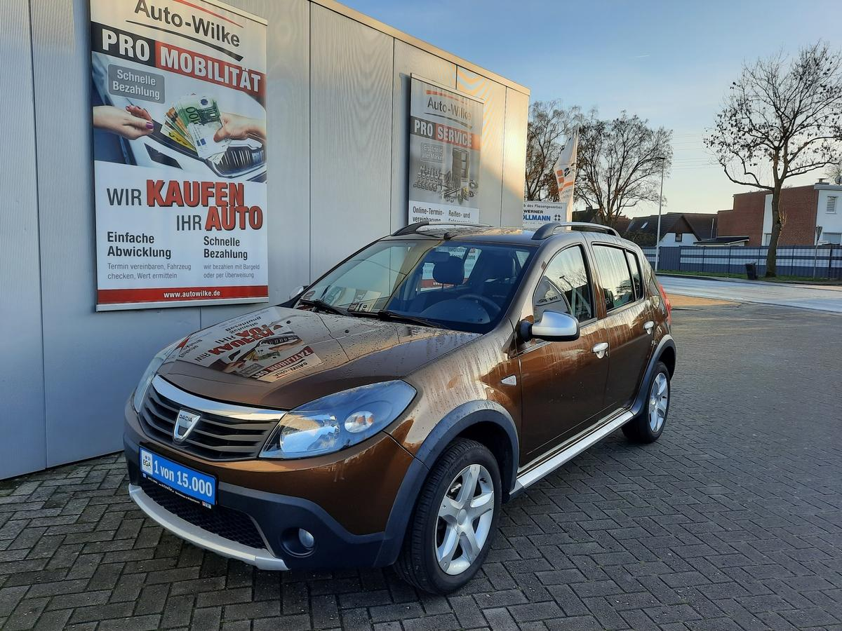 Dacia Sandero 1.6 MPI STEPWAY KLIMA*RCD*EFH*AHK*ALU*