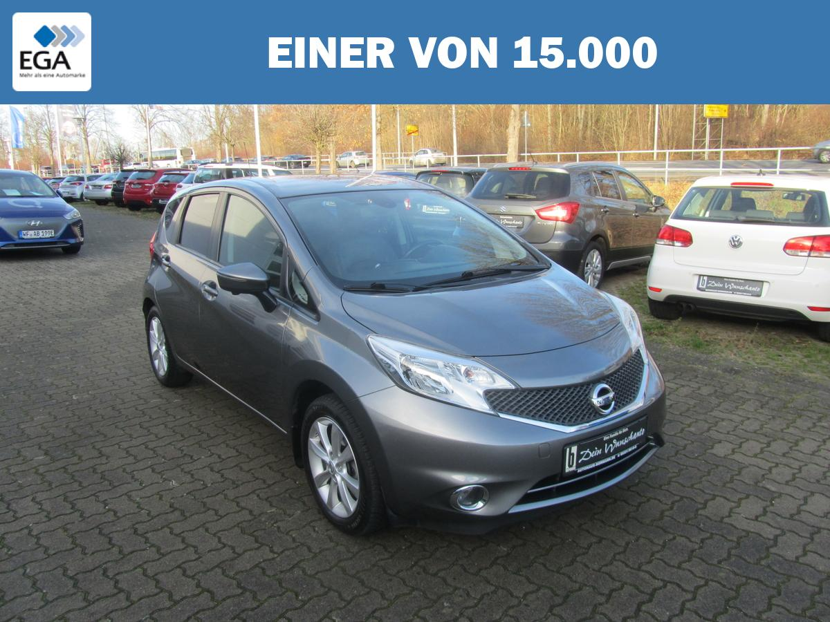 Nissan Note 1.2 DIG-S Bluetooth+ Totwinkel-Assistent & Navigation