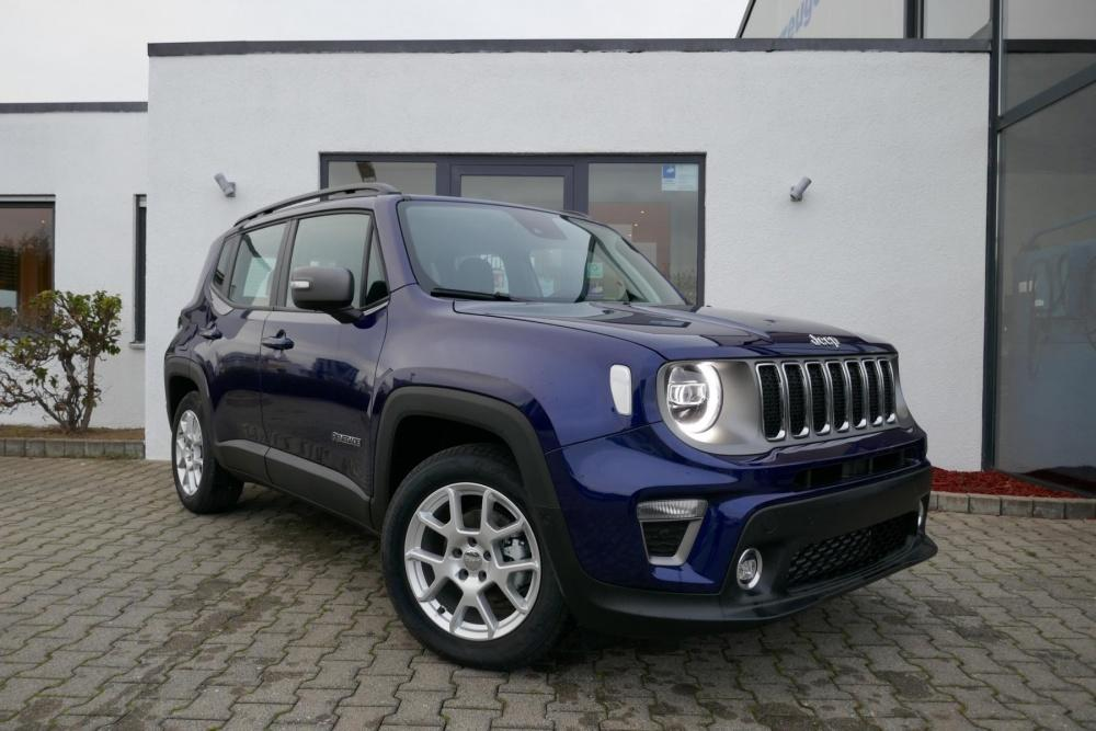 Jeep Renegade LIMITED Multijet DCT LED und Park-Paket