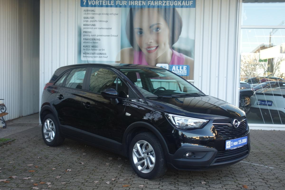 Opel Crossland X 1.2 Turbo TEMPOMAT*KLIMA*ALU*PDC*DAB*BTH*SPUR*