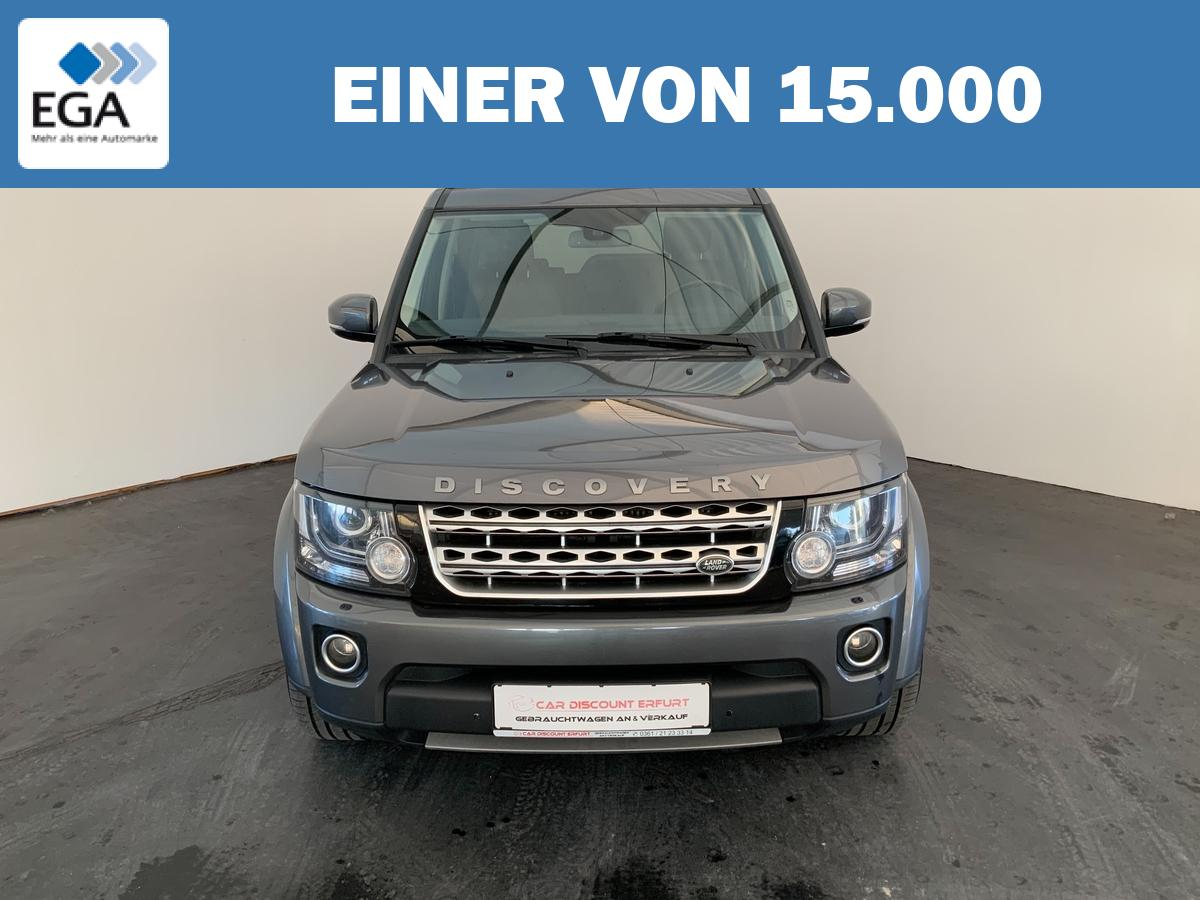 Land Rover Discovery 4 SD V6+Standheizung+AHZV+Kamera+1.Hand+