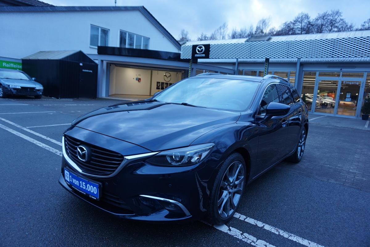 Mazda 6 Bose, Navi, LED, Head Up, Kamera, 19 Zoll
