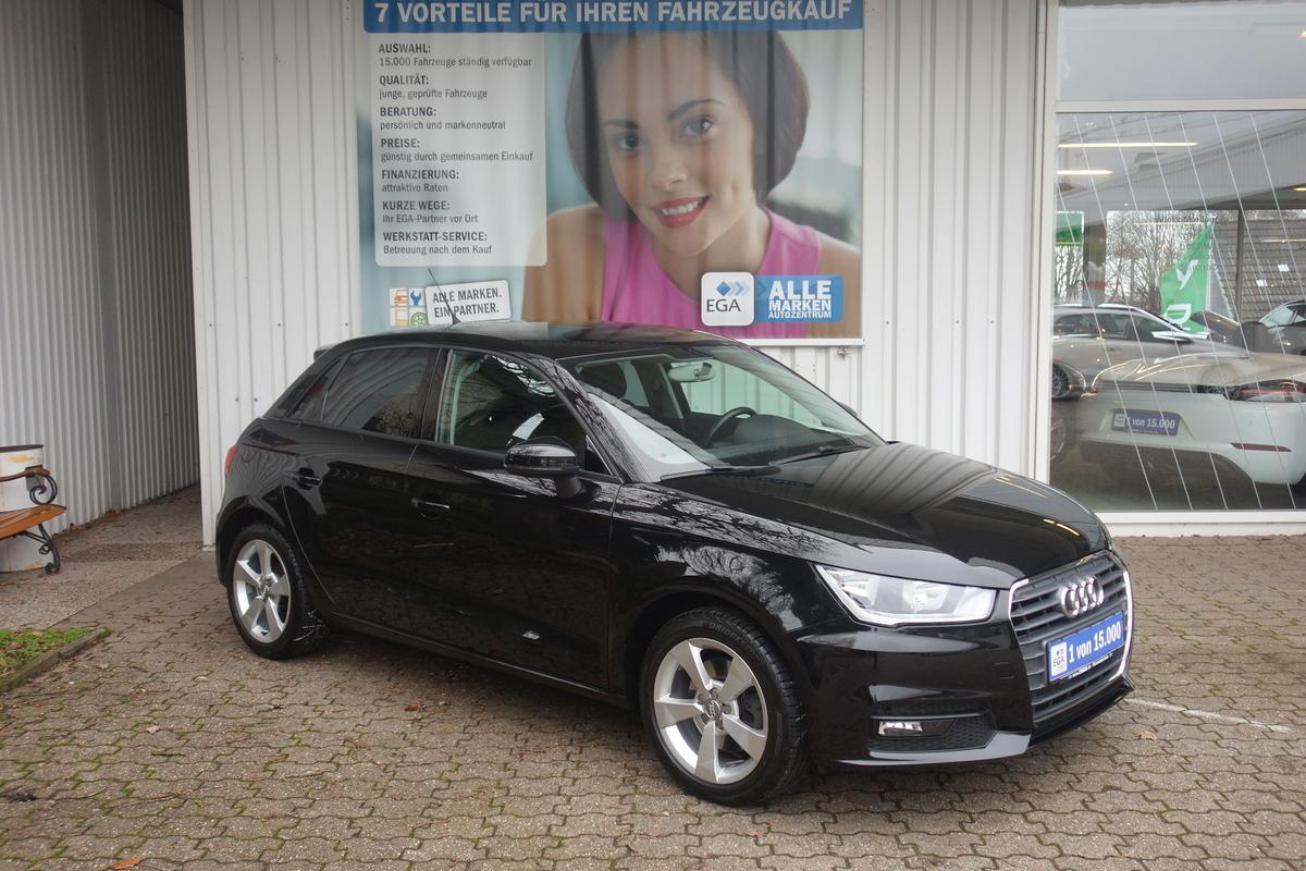 Audi A1 1,4 SPORTBACK KLIMA FIS ALU BLUETOOTH MFL NAVI VORBER.