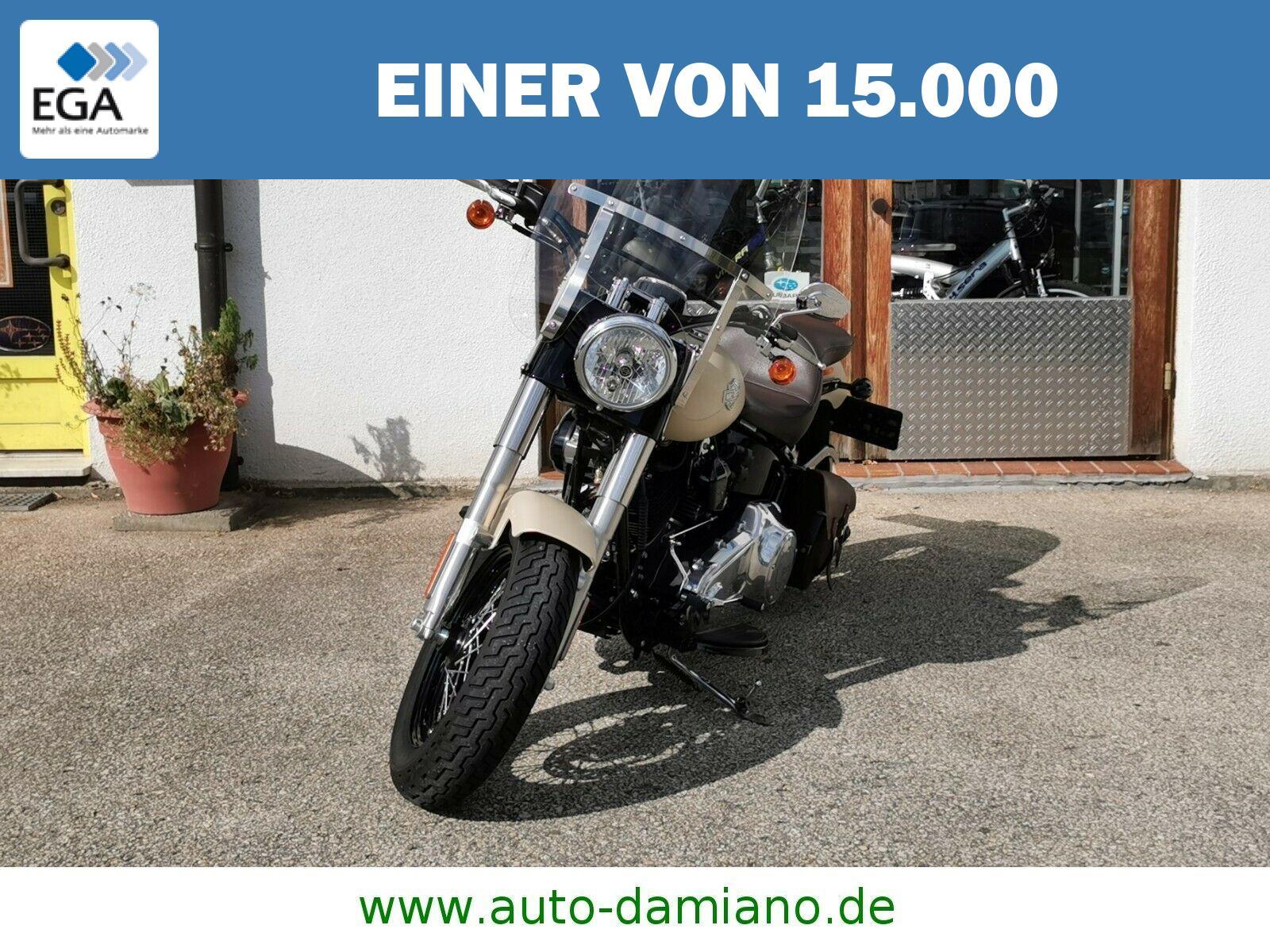 Harley-Davidson Softail Slim *Klappenauspuff*Scheibe*Sonderlackierung